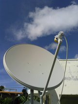 AFN Satellite services and security cameras in Okinawa, Japan