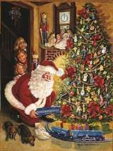 A Lionel Christmas Eve 1000 piece SunsOut Jigsaw Puzzle Brand New in Box in Camp Lejeune, North Carolina
