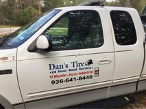 Mobile Tire Sevice in Baytown, Texas