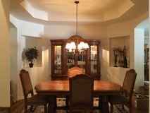 Dining Room Table and Buffet with Hutch in Elgin, Illinois