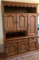 Genuine rustic style ' Schrank' room extension made in Belgium with solid oak front .......... in Fort Drum, New York