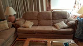 Couch (hide away bed) and love seat in Fairfield, California