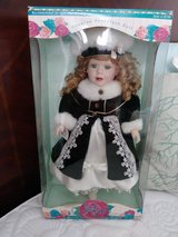 Rose porcelain doll in original box in The Woodlands, Texas