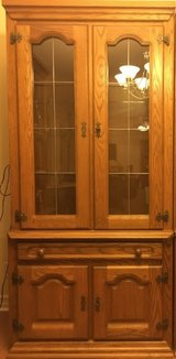 Genuine rustic style 'Schrank' room storage wall extension made in Belgium, with solid front....... in Fort Drum, New York