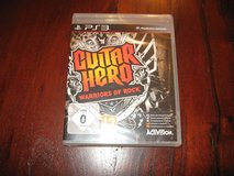 Guitar Hero Warriors of Rock for PS3 in Naperville, Illinois