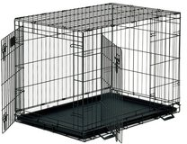 Dog crate in Yucca Valley, California