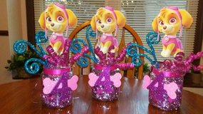 SKYE Paw Patrol Centerpieces in Glendale Heights, Illinois
