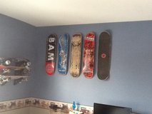 Looking for Used Skateboard Decks for Son's Room Decorating in Chicago, Illinois