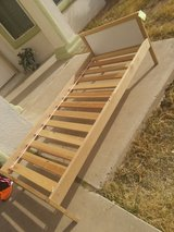 Bed frame in Fort Bliss, Texas