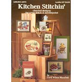 COUNTRY KITCHEN, 1979 Cross Stitch, Needlepoint Charts LA #157 in Naperville, Illinois