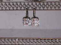Beautiful Swarovski Crystal Earrings with Silver Plating by Mariana in Joliet, Illinois