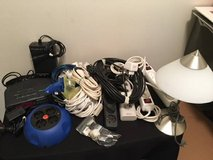 Moving to Europe? 220v electronics: clock, lamp, power cords, and adapters in Fort Meade, Maryland