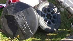 Toyota spare tire in Camp Pendleton, California