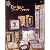 Cross Stitch Bk DESIGNS THAT COUNT 1978 GP 6 in Glendale Heights, Illinois