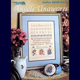 ANGELS UNAWARES CROSS STITCH SAMPLER CHART in Westmont, Illinois