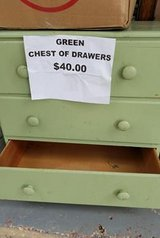 Green Chest of Drawers in Baytown, Texas
