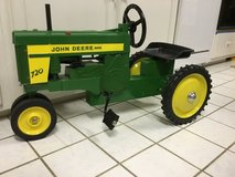 John Deere collectible pedal tractor in Eglin AFB, Florida