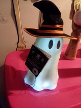 Halloween decoration floating ghost in Algonquin, Illinois