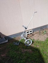 Vintage metal golf cart in Fairfield, California
