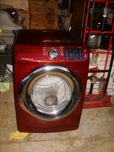 Brand New Front Load Samsung dryer maroon color NIB in Fort Campbell, Kentucky