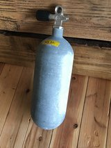 4 liter /27 cuf steel scuba tank in Okinawa, Japan