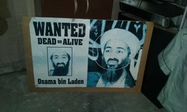 Wanted poster OBL in Cherry Point, North Carolina