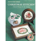 1984 Current CHRISTMAS Counted Cross Stitch Charts Bklt in Aurora, Illinois