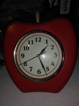 Apple clock in Clarksville, Tennessee