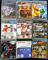 PS3 Games All 9 for 15.00 in Fairfield, California