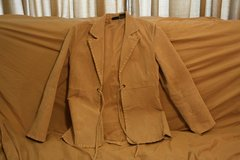 Ladies Tan LEATHER Suede Jacket in Camp Lejeune, North Carolina