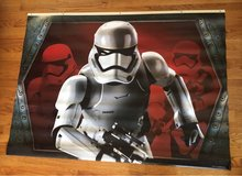 Vinyl Stormtrooper Poster in Chicago, Illinois