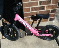 Strider balance bike in Joliet, Illinois