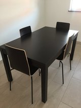 IKEA DINING TABLE WITH 4 CHAIRS in Stuttgart, GE