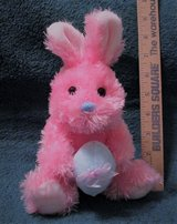 Pink Easter Bunny in Houston, Texas