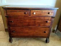 Antique Solid Wood Dresser in Yucca Valley, California
