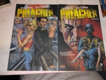 Preacher graphic novel set (4 books) in Fort Campbell, Kentucky