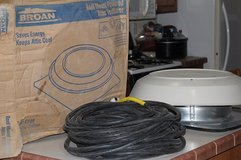 Attic Fans with cord Broan Model 350 (Reduced) in Alamogordo, New Mexico