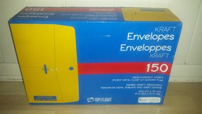 New in Box!  Heavyweight Kraft Envelopes 10x13 in Glendale Heights, Illinois