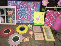 15 Piece Girls Bedroom Decor Decorations Lot in Perry, Georgia