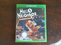 Brand New HELLO NEIGHBOR XBOX ONE GAME in Fort Riley, Kansas
