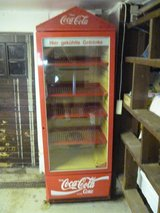 "Coca Cola ""Kuhl Schrank"" Display Case in Ramstein, Germany"