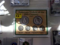 American Nickels of the Twentieth Century in Fort Riley, Kansas