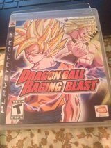 dragon ball z raging blast ps3 in Fort Campbell, Kentucky