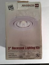 "Commercial Electric 3"" Recessed Light Kit K26 562883 CU10 50W in Bolingbrook, Illinois"