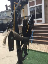 Recycled Horse Tire Tree Swing in Orland Park, Illinois