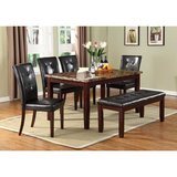 # NEW! DESIGNER SOLID MARBLE/WOOD DINING SET WITH BENCH!:) in Camp Pendleton, California