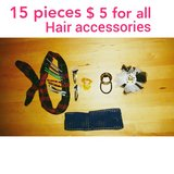 Hair Accessories bundle 15 pieces in Baytown, Texas
