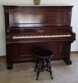 A.B. CHASE UPRIGHT PIANO S/N 44680 in St. Charles, Illinois