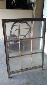 large vintage wooden window with legs in Cleveland, Texas