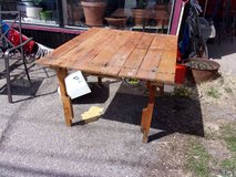 Wooden Pallet Table in Fort Riley, Kansas